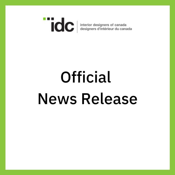 Interior Designers of Canada COVID-19 update