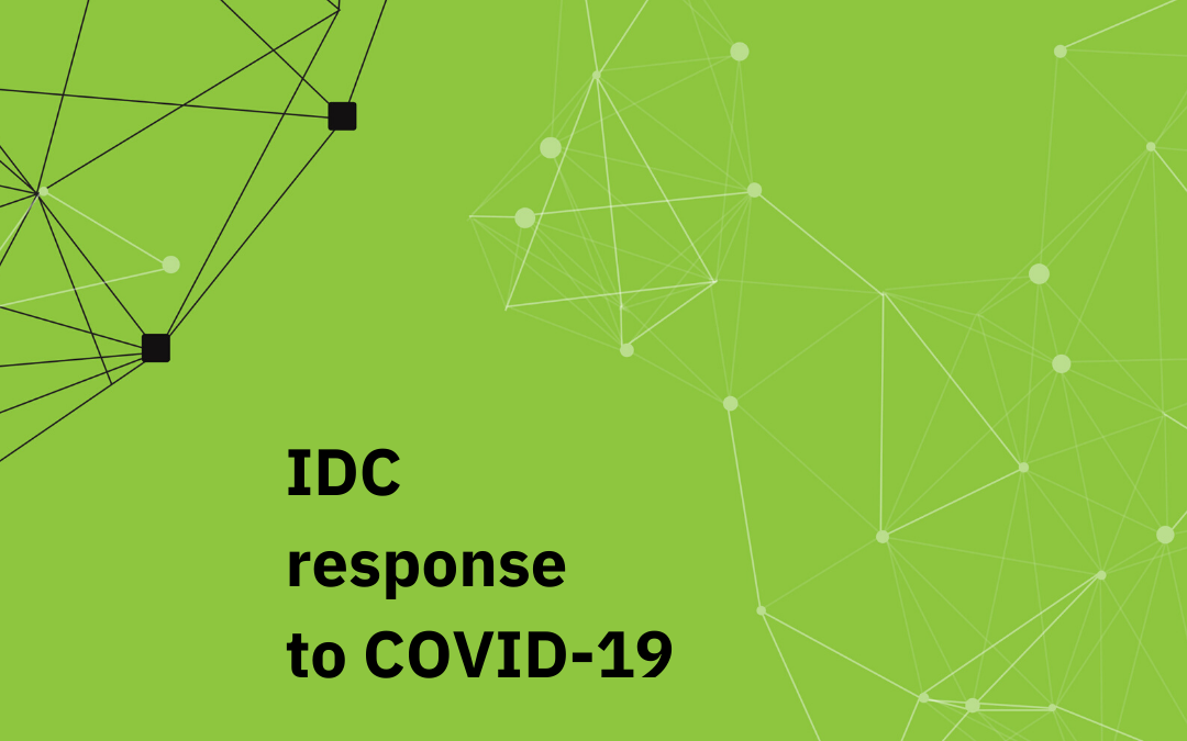 IDC response to COVID-19