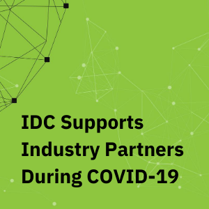 IDC Supports Industry Partners During COVID-19