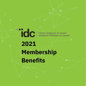 IDC 2021 membership benefits