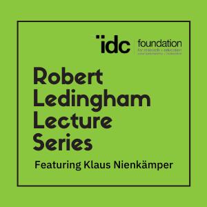 Klaus Nienkämper featured in the Inaugural Ledingham Lecture