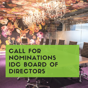 Call for Nominations: IDC Board of Directors